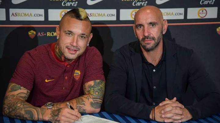 Radja Nainggolan Ends Transfer Rumours With New Roma Contract