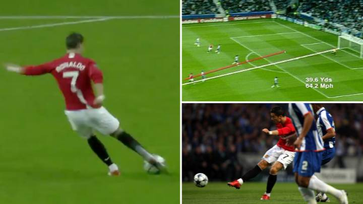 On This Day In 2009, Cristiano Ronaldo Scored A Goal So Good He Got A Copy Of It Made On DVD