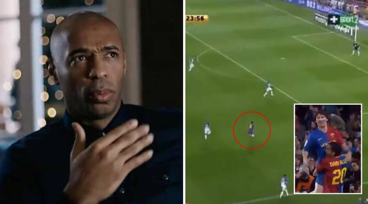 Arsenal Legend Thierry Henry Recalls 'Forgotten' Lionel Messi Goal That 'Defied Logic'