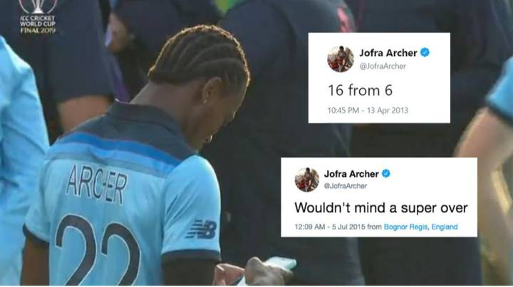 Jofra Archer's Old Tweets Resurface And It Seems He Can Tell The Future