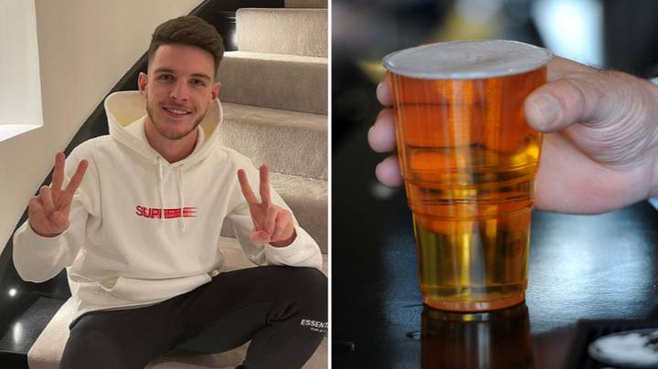 Declan Rice Says He Will Try His First Ever Pint Of Beer If England Win Euro 2020