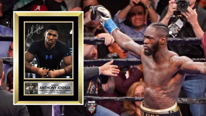 Eddie Hearn Says Deontay Wilder Should Have A Picture Of Anthony Joshua In His Lounge