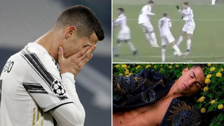 """Cristiano Ronaldo """"Is Afraid Of Taking A Ball To The Face Because He Cares About His Image"""""""
