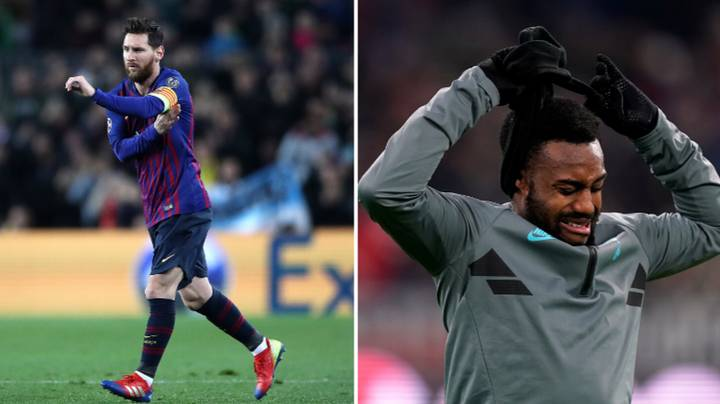 Danny Rose Had A Priceless Reaction To Seeing Lionel Messi Come On Against Spurs