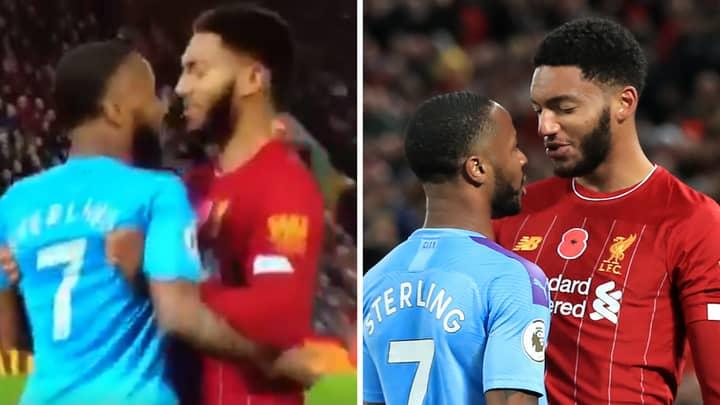 Liverpool Fans Are Loving How Joe Gomez Dealt With Raheem Sterling