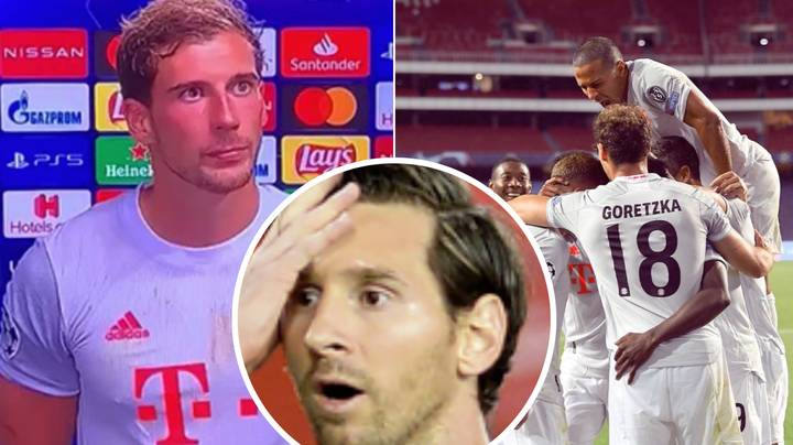 Leon Goretzka Gives Brutal Answer To Lionel Messi Question