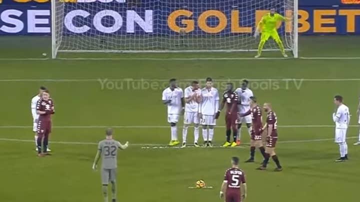 Watch: Torino Let Their Goalkeeper Take A 30-Yard Free-Kick
