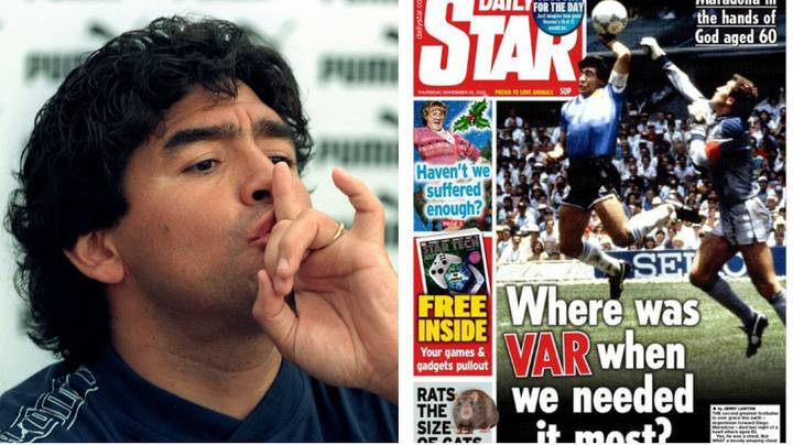 Football Fans Slam English Media's Coverage Of Diego Maradona's Death
