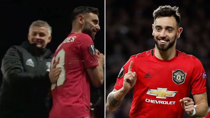What Bruno Fernandes Did After Being Substituted Vs Club Brugge Delighted Manchester United Staff