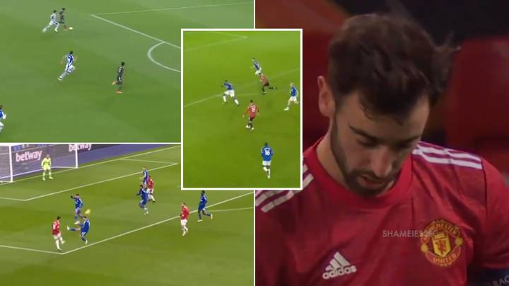Damning Compilation Of Bruno Fernandes Being Let Down By His Manchester United Teammates