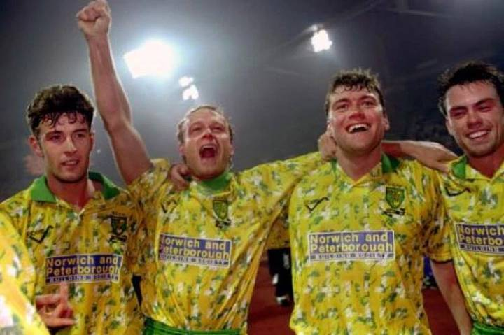 Norwich's Retro Inspired Third Kit Isn't Going Down Too Well