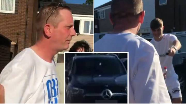 Manchester United Star Brandon Williams Buys His Father A New Mercedes For His Birthday