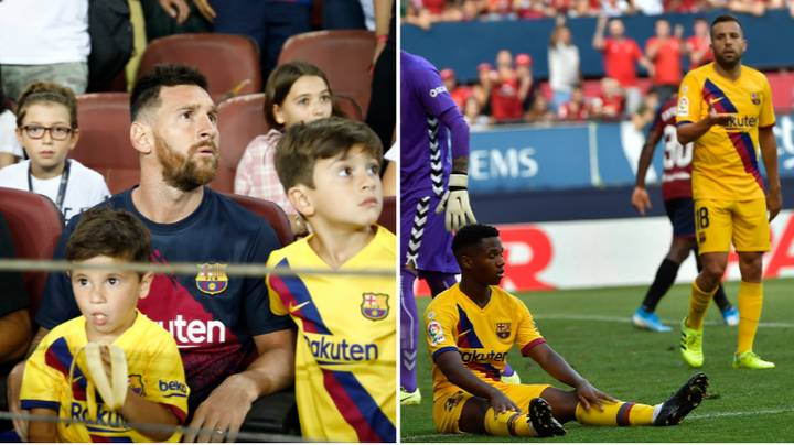 Barcelona's Record Without Lionel Messi Is Worryingly Bad