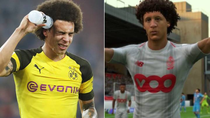 """Axel Witsel Tells EA Sports To """"Fix His Face"""" In FIFA 19"""