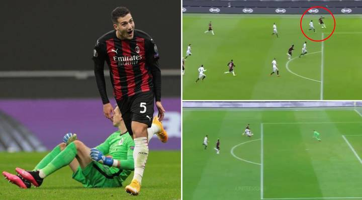 On-Loan Manchester United Defender Diogo Dalot Records Stunning Assist And Goal For AC Milan