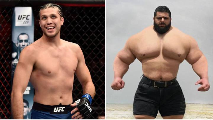UFC Featherweight Reveals Exactly What Would Happen In A Fight With The 'Iranian Hulk'