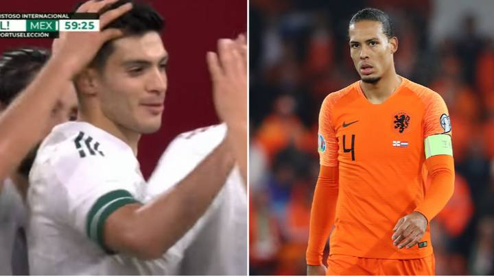 Raul Jimenez Hilariously Responds After Virgil van Dijk Said He Didn't Know Many Mexico Players
