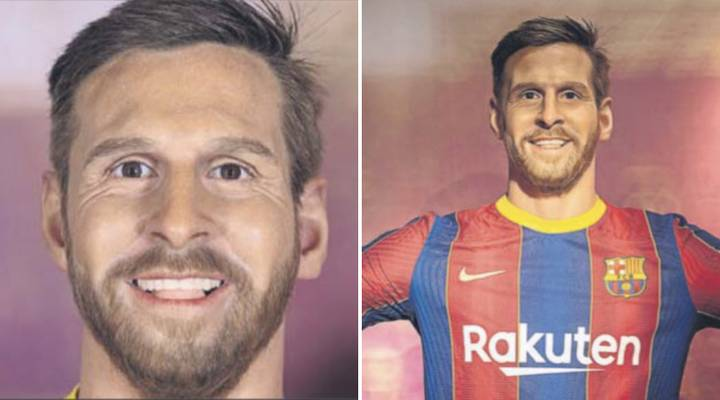 Lionel Messi Waxwork At Barcelona Museum Looks Absolutely Nothing Like Him