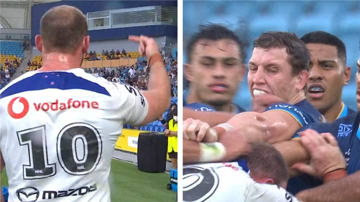 Wild NRL Game Sees Referee Dish Out Four Sin Bins In Two Minutes