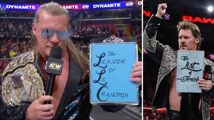 Chris Jericho Hilariously Introduces The 'Lexicon Of Le Champion' In A Brilliant AEW Promo