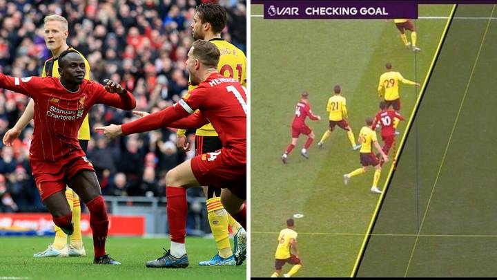 Sadio Mane Has Goal Disallowed For Liverpool In More VAR Controversy