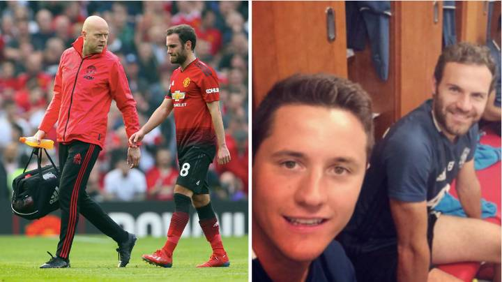 Juan Mata Helps Manchester United Staff By Washing The Kit After Games