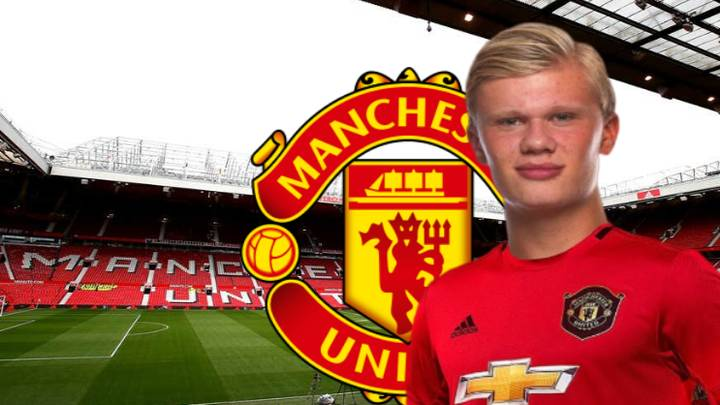 Erling Haaland Reportedly On His Way To Manchester For Talks With Manchester United
