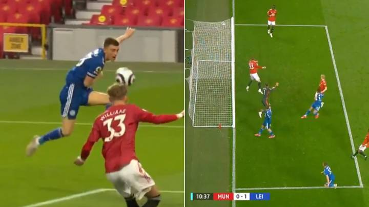 Luke Thomas Smashes Home One Of The Most Acrobatic Volleys In Premier League History