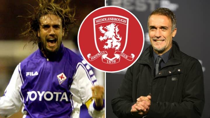 Gabriel Batistuta Interested In Becoming Next Middlesbrough Manager