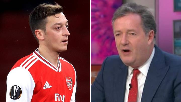 Mesut Ozil Continues Piers Morgan Twitter Rivalry With Another Scathing Putdown