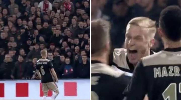 Donny Van De Beek's Incredible Passion Is Exciting For Manchester United Fans