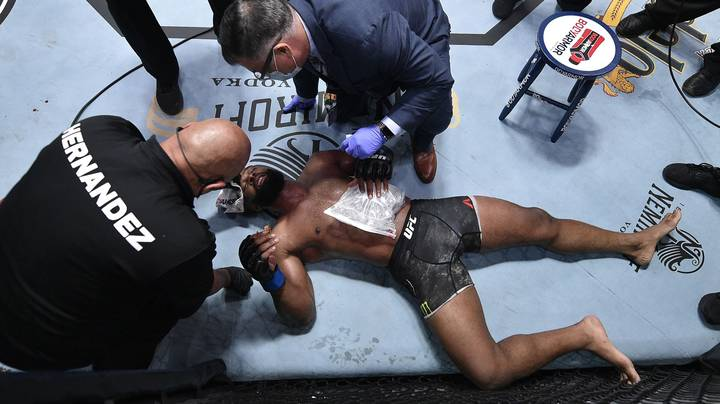 X-Rays Confirm That Tyron Woodley's 'Ribs Popped Out' During Loss To Colby Covington