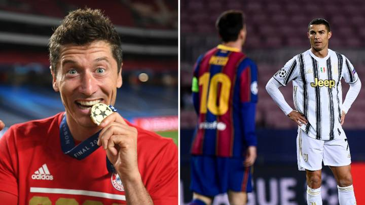 Lionel Messi And Cristiano Ronaldo Shouldn T Be Named With Robert Lewandowski On Fifa List