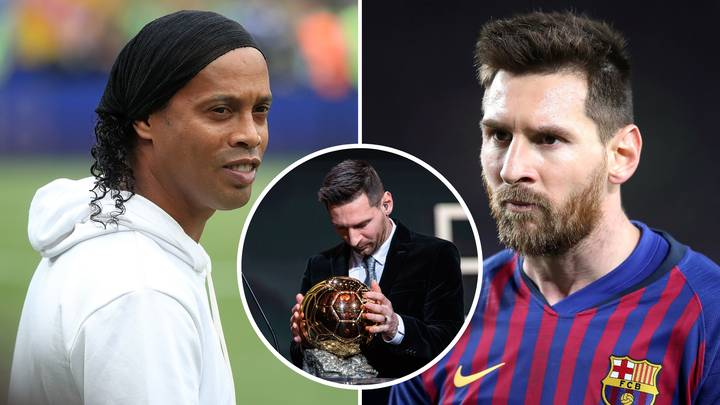 Barcelona Superstar Lionel Messi Is 'Probably Not The Best Ever,' Says Ronaldinho