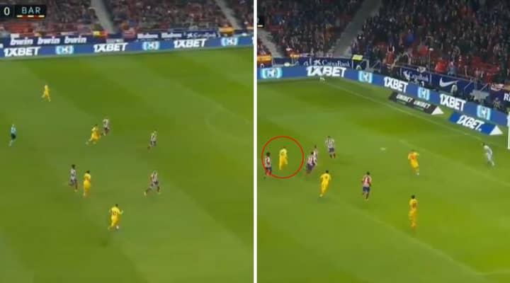 Lionel Messi Scores Brilliant Late Winner For Barcelona Against Atletico Madrid