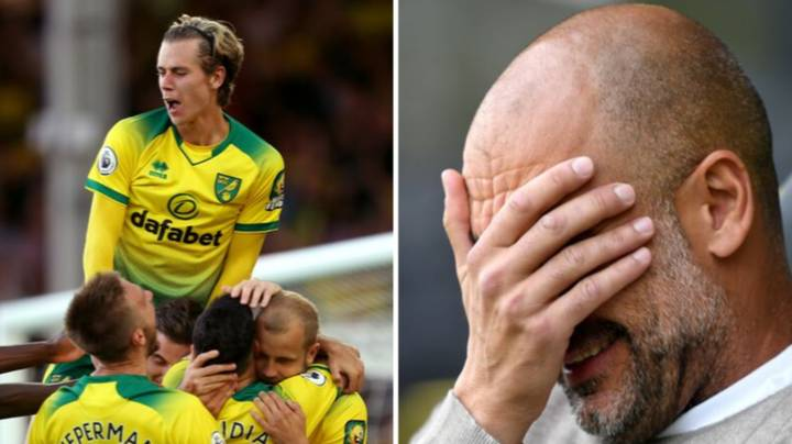 Man City Fall To Defeat At Norwich After Defensive Horror Show At Carrow Road