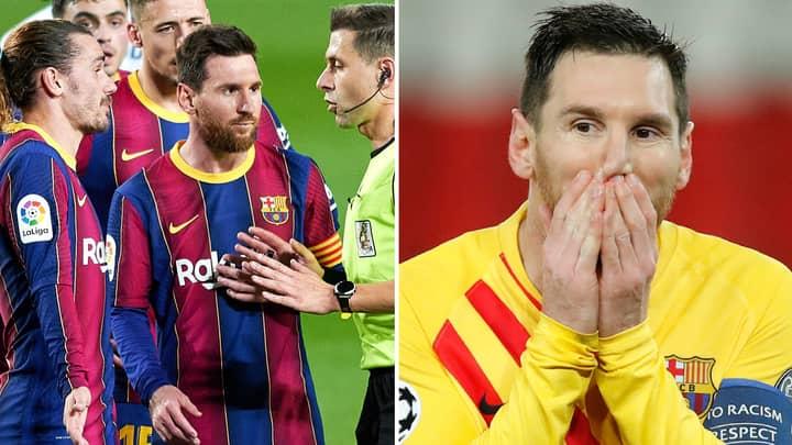 Barcelona Superstar Lionel Messi 'Needs To Look After Himself And No-One Else'