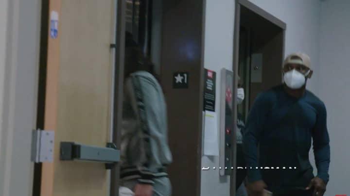Footage Of Kamara Usman And Jorge Masvidal's Close Encounter At UFC Hotel