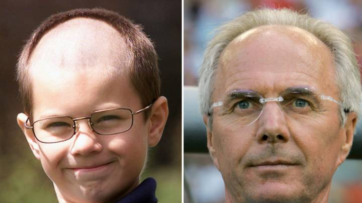 Someone Tracked Down The 10-Year-Old Lad Who Got The Sven Goran-Eriksson Trim In 2002