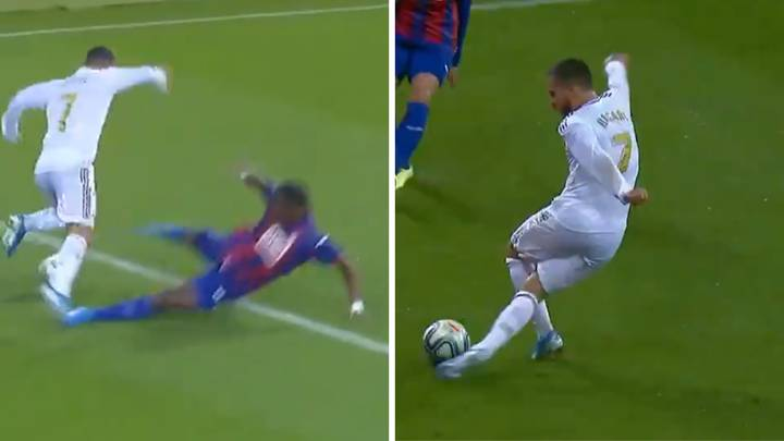 Eden Hazard Has Officially Arrived At Real Madrid After Rabona Cross