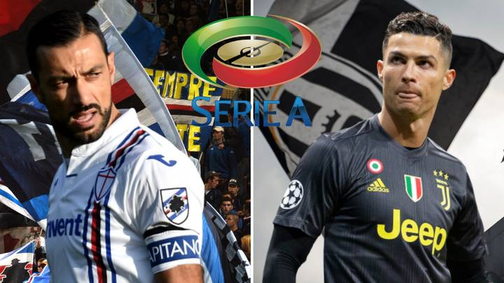 36-Year-Old Fabio Quagliarella Is Now Level With Cristiano Ronaldo As Serie A's Top Scorer