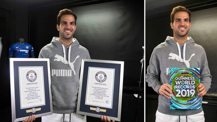 Cesc Fàbregas Smashes An Assist Record To Enter The Guinness World Records 2019