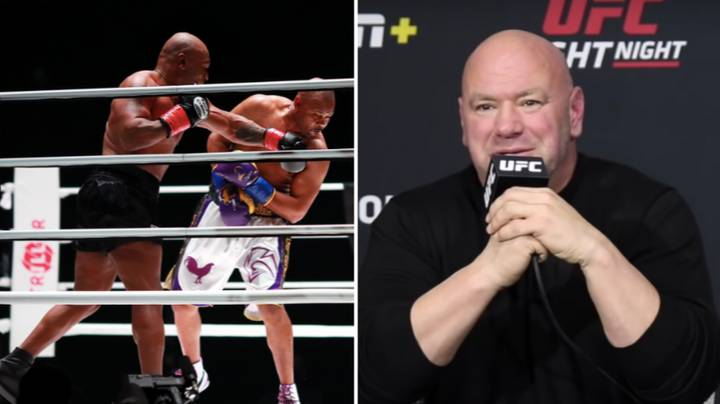 Dana White Was 'Blown Away' By Mike Tyson's 'F***ing Awesome' Performance In Roy Jones Jr Exhibition Bout