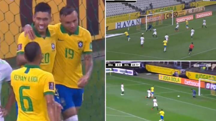 Liverpool Forward Roberto Firmino Played A Very Different Game For Brazil Last Night