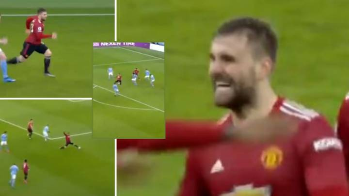 Luke Shaw Compilation Shows Just How Brilliant He Was Against Manchester City