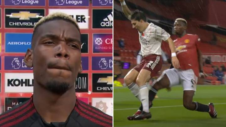Manchester United Fans Cannot Believe Paul Pogba's Excuse For Giving Away Penalty Vs Arsenal