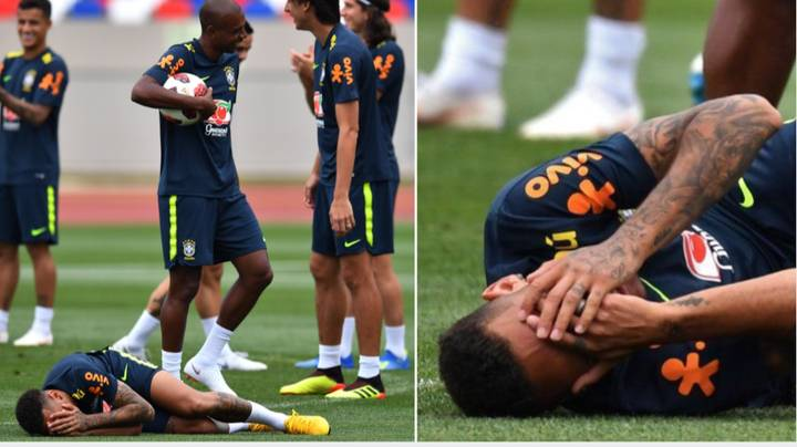 Neymar Is Training Hard For World Cup Quarter-Final Against Belgium