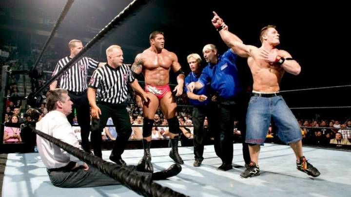 When Vince McMahon Tore Both His Quads Walking To The Ring
