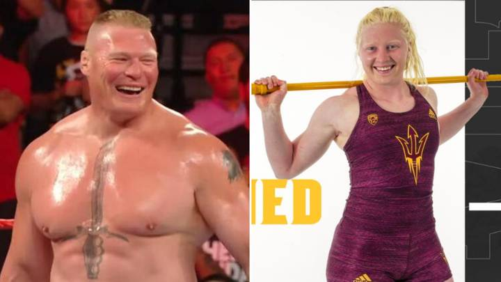Brock Lesnar's Daughter Is Currently The Sixth Best Shot Putter In America