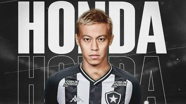 Keisuke Honda Made A Bizarre Request In His Botafogo Contract